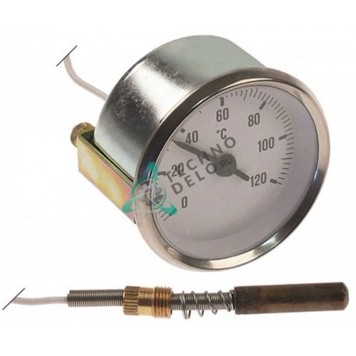 Термометр Arthermo 0-150 градусов ø60мм трубка L5000мм DET1 для Colged, Elettrobar и др.