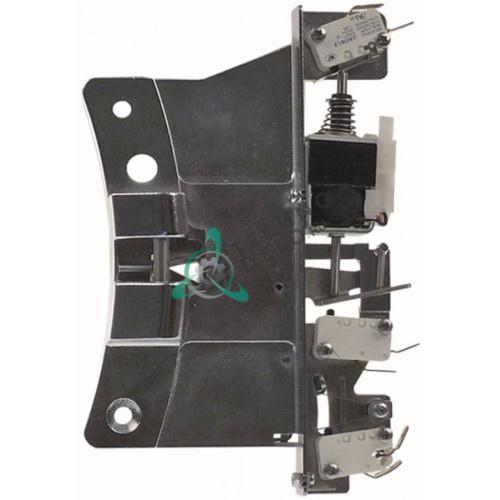 Замок L-185 мм для промышленной стиральной машины Grandimpianti