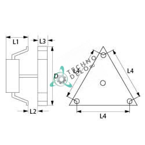 Вентилятор-электромотор Ebm-papst R2K150-AC01-25 для оборудования Bonnet, Lincat и др.  Фото: 0