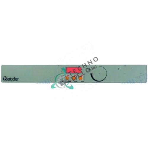 Стикер обозначения кнопок 02012427, 02016790 547x67мм панели управления для гриля-саламандера Bartscher, Giorik