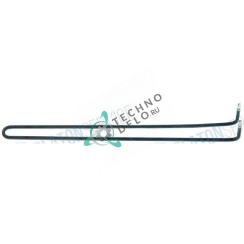 Тэн (1200Вт 230В) 534x36x65мм трубка d-8,5мм клемма 6,3x0,8 574156 для гриль-плиты MKN 0721134-01 0721134A01 и др.