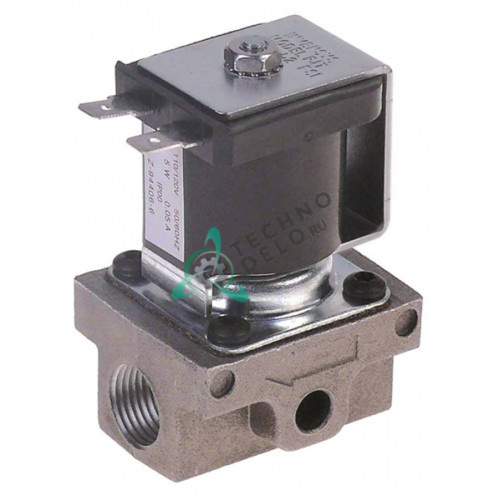 Клапан электромагнитный газовый Robertshaw 110V 3/8 L50мм для печи Imperial-USA