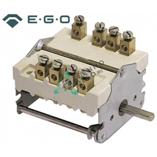 Переключатель кулачковый EGO 43.32032.000 43.42032.000 4 положения 4NO 0-1-0-1 32А ось 6x4,6x23мм