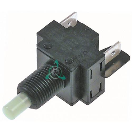 Выключатель нажимной CM 2NO 250В 16А 33059200 для фритюрницы Bertos E7F10-4B, E7F10-4BS, E7F10-4M и др.