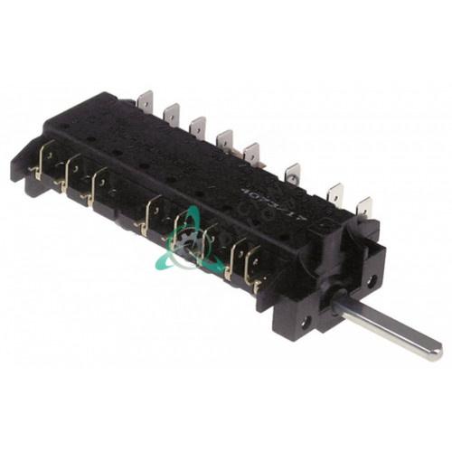 Пакетный переключатель 7 позиций 16A 250V - max 150°C SMEG 811730316