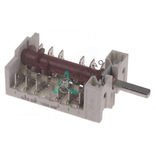 Пакетный переключатель (Gottak 870500, 8705001) 002661 печи Electrolux, Zanussi и др.