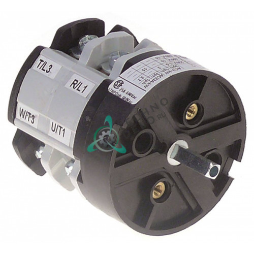Выключатель Bremas A2500 CA0250004 0-1 600В 25A 120736 для Comenda AC122/AC151/AC152/AC181 и др.