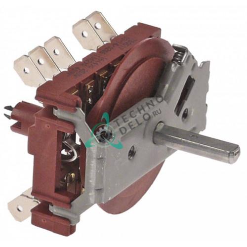 Переключатель кулачковый (8 положений, 5NO) 0C6245 для печи Alpeninox, Electrolux, Zanussi