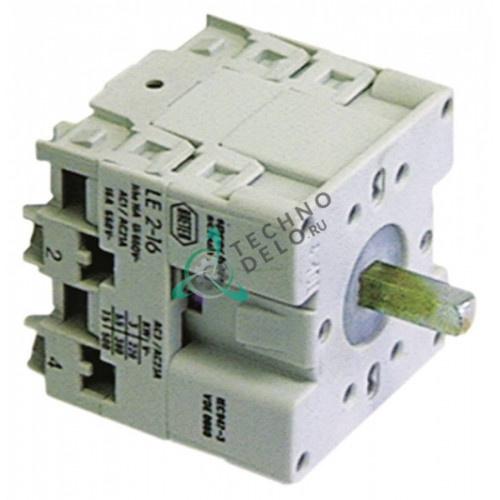 Переключатель Breter 16A ось 5x5мм 32W1200 / 4202 для ATA, Angelo Po, Sagi и др.