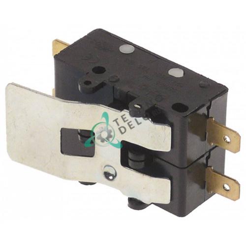 Микровыключатель двойной RM 250В 15А 2NO 120329 для Hoonved, Comenda B15/B16/B18 и др.