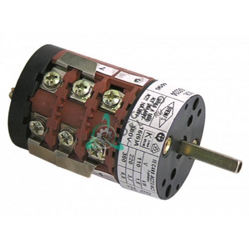 Переключатель Bremas серия A1600 0-1-2 20A ось 5x5мм SVTMC012 для Vibiemme, SAB ITALIA и др.