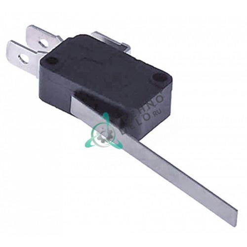 Концевой выключатель-микрик с рычагом 58мм 250В 16А / универсальный