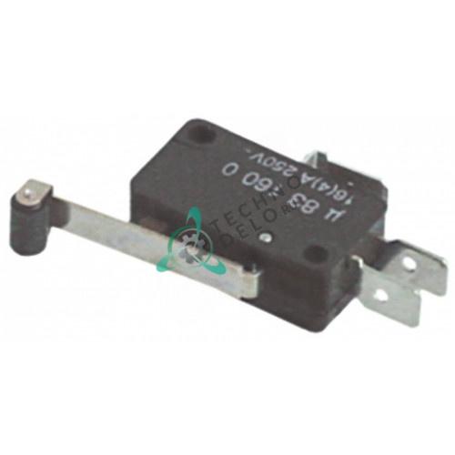 Микровыключатель (микрик) 250В 16А арт. U831606  / 100387 /  R010534000