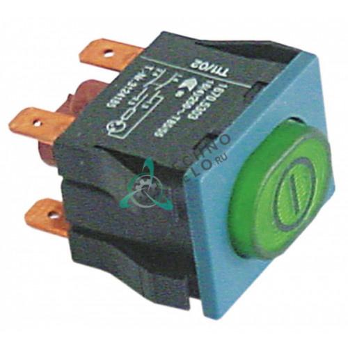 Выключатель кнопка 250V 16A 3124185 для посудомоечной машины Winterhalter GS 14/15