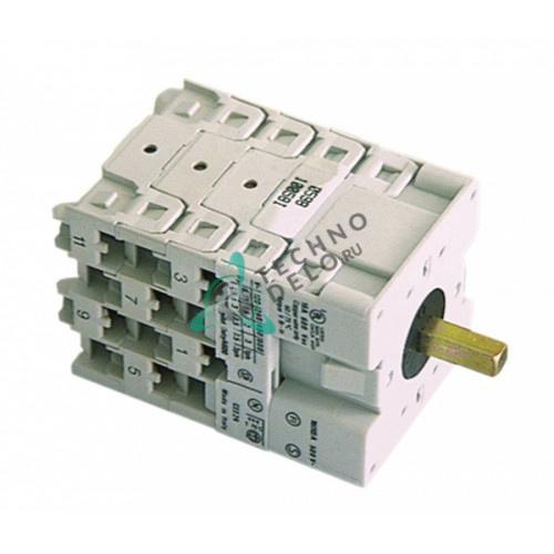 Переключатель Breter 16A ось 5x5мм 7951 для посудомоечной машины ATA