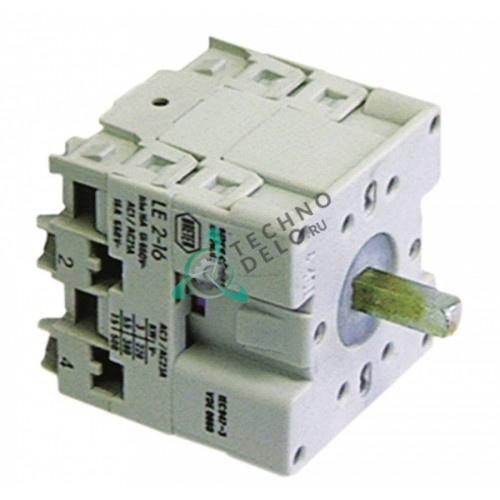 Переключатель 16A ось 5x5мм 2 полюса 4274 для посудомоечной машины ATA