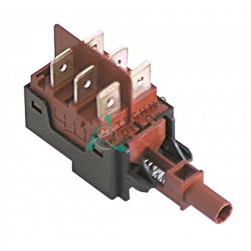 Кнопка включения 250V/16A (арт. 03766) для оборудования Elframo, Colged, Electrolux и др.
