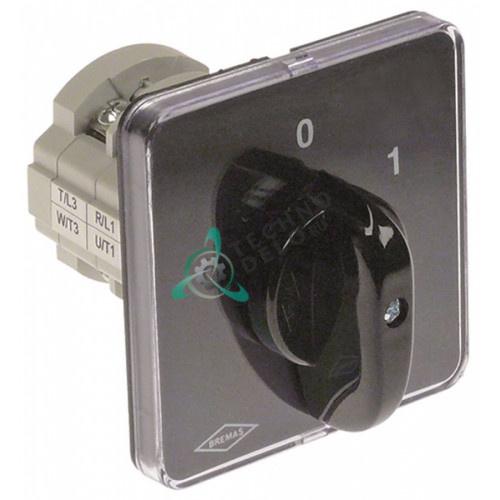 Выключатель поворотный Bremas CA0160004 0-1 400В 16А 120714 для Comenda B41/B42/LF280/LF320