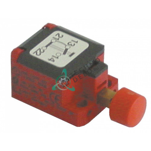 Микровыключатель 1NO/1NC 240В 3А 51x26x21мм IP30 00-735221-001 / 324195 для Hobart FE, FE-W, FEW, FX и др.