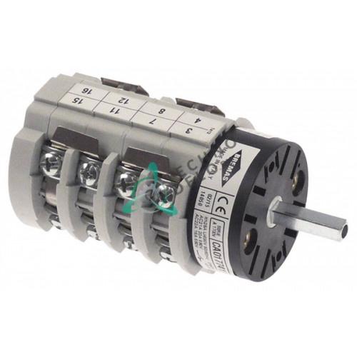 Переключатель Bremas CS0177412 1-0-2 400V 20A ось 5x5мм 18104 для Astoria, BFC, Royal, Wega и др.
