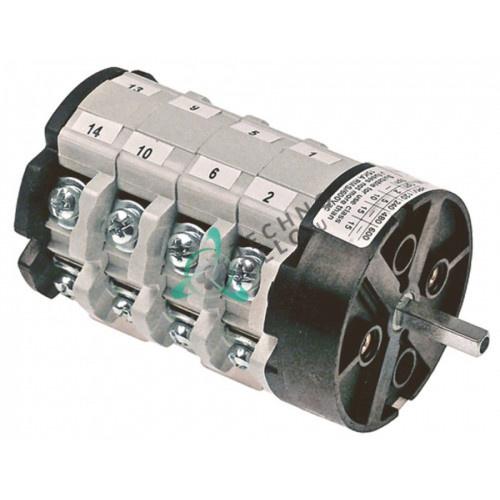 Переключатель Bremas CS0257412 1-0-2 600V 32A ось 5x5мм 18103 для Astoria, BFC, Royal, Wega и др.