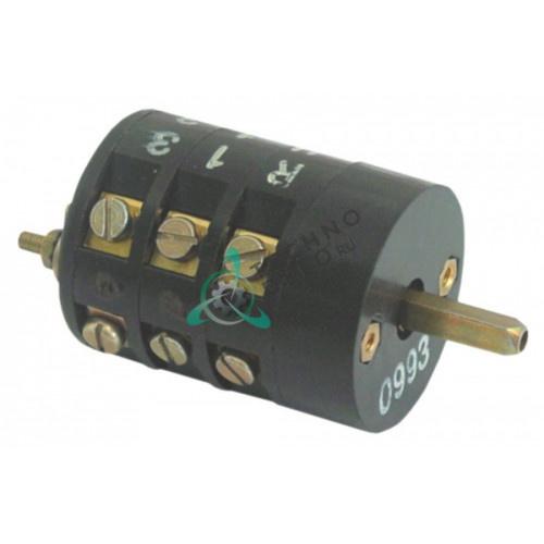 Поворотный выключатель 673.346123 tD uni Sp