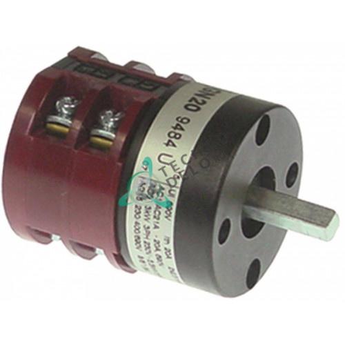 Выключатель Lovato GN209484U 1-2 690В 20А ось 6x6мм для ATA AF61D, AL40D, AL45D и др.