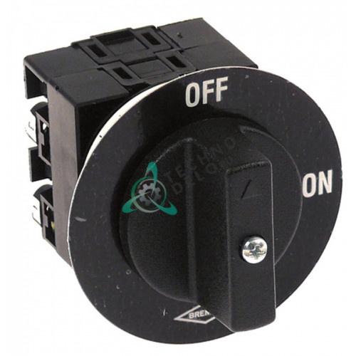 Выключатель поворотный Bremas CQ016R 0-1 400V 20A 19410160 для оборудования Sirman