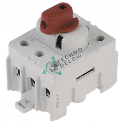 Выключатель поворотный 0220060 400В 32А для вакуумного упаковщика Henkelman Falcon/Marlin/Polar