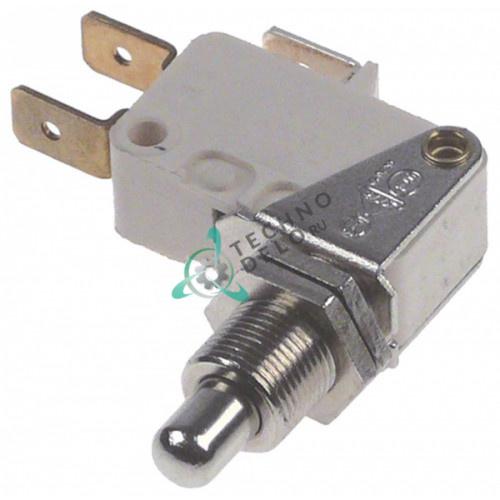 Микровключатель NR6K5 M10x0,75 250V 10A 1CO / универсальный