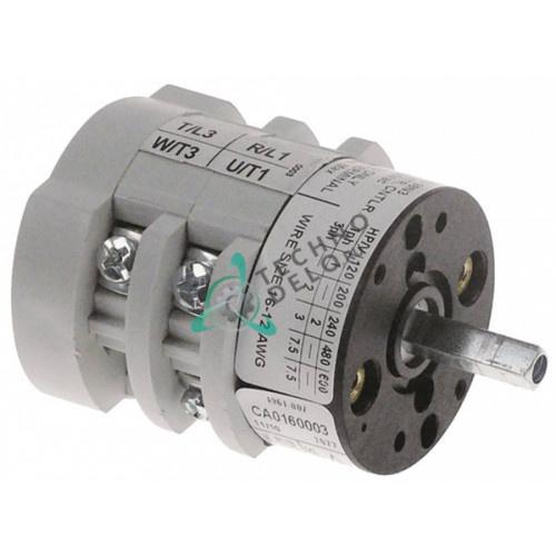 Выключатель Bremas A1600 CA0200003V 3NO 0-1 60900000 для кофемашины Expobar, Astoria, Mazzer, WEGA и др.