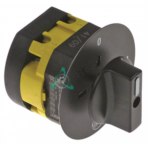 Выключатель Giovenzana PO16 0-1 690В 16А ось 5x5мм для Quamar M1, M1E (арт. 210105)