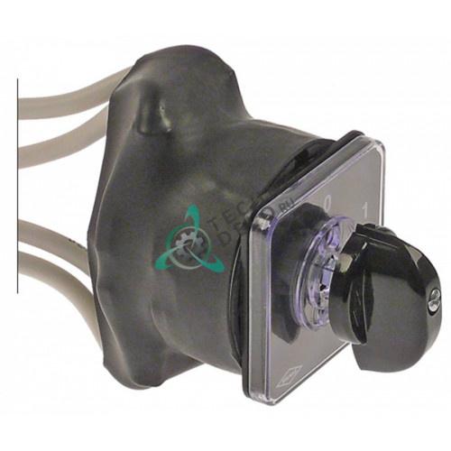 Выключатель Bremas CA0320002 0-1 600V 32A ось 5x5мм E.2.001.02 для La-Marzocco FB70 и др.