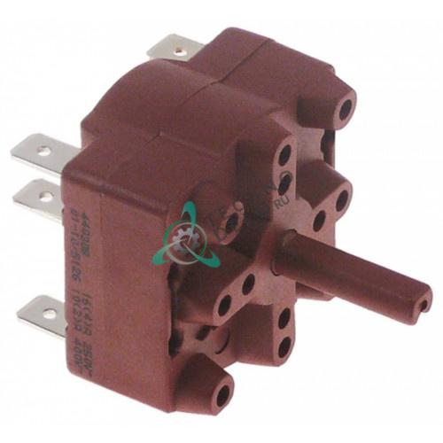 Переключатель Gottak 0-1-2 400В 16А ось ø6x4,6мм для Iberital (арт. 11255)