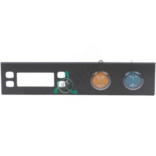 Панель 099389 ВКЛ-ВЫКЛ 168x37мм чёрная с переключателями для холодильника-витрины Electrolux ADN111/ADN220 и др.