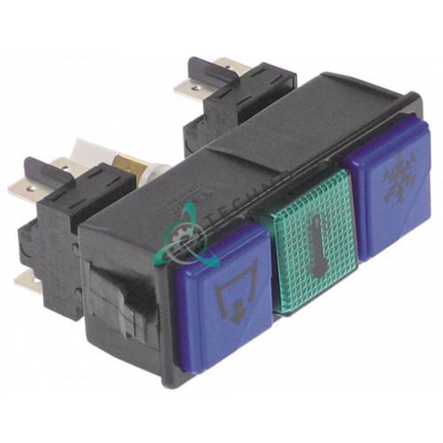 Комплект кнопок насос/ополаскивание/температура 0027315 для Dihr, Kromo и др.