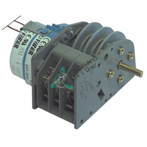 Таймер/программатор Fiber P255J03W195 1 час 230В ось 6x4,6x20мм 6352001 для Gico