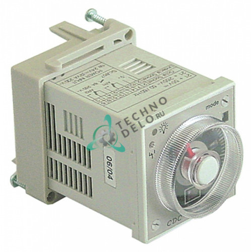 Реле времени Finder 88.12.0.230.0002 24-230VAC/VDC 2CO 4181 / ME0000571 для Cuppone, Electrolux и др.