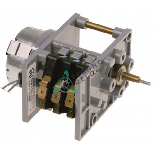Таймер-программатор CDC 9003F3/0300100 230В 6 минут 3 камеры ось 6x4,6мм микромотор M48R ATS для Lamber