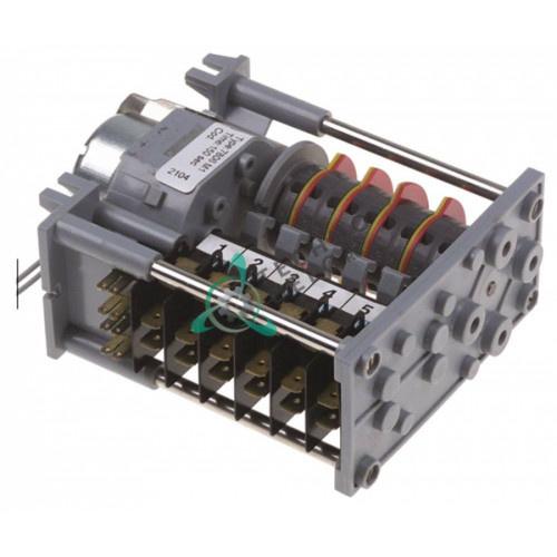 Таймер-программатор CDC 7806M1 150 секунд 230VAC 6 камер мотор M37RN 0300801 для посудомоечной машины Lamber