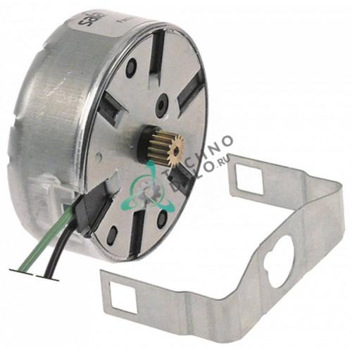 Микромотор в комплекте SAIA UDS40NE1RNZ165 провод L-150мм ø6,8мм зубчики 15 24VAC для программатора
