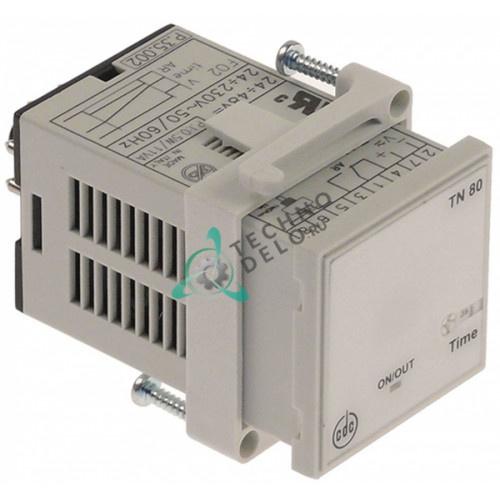 Реле времени CDC TN80 Sc.741 диапазон времени 3с-60мин. 48-230В 35x35мм EC039 пресса для пиццы OEM PF33-MT/PF45-MTE