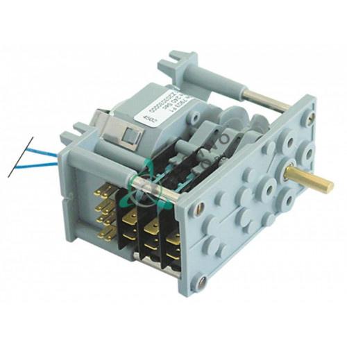 Таймер-программатор CDC 7903F 230В 4 минуты 3 камеры ось 6x4,6мм 12024087 Z203030 для Fagor FI-30, FI-60DD и др.