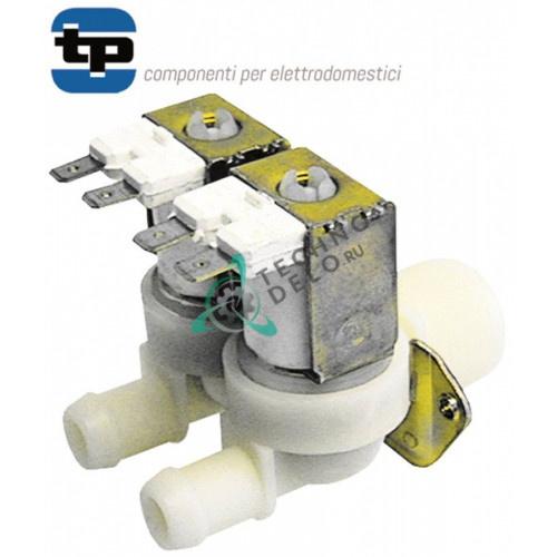 Клапан двойной TP 230VAC 3/4 d14мм 50GI85190 DW3000101 для Kromo, Grandimpianti, Whirlpool и др.
