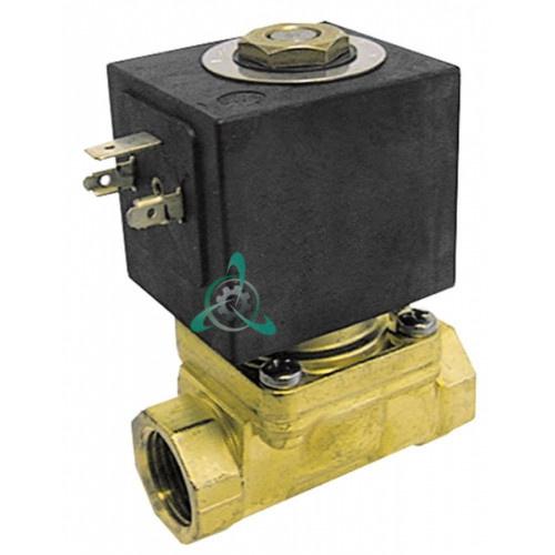 Клапан электромагнитный Sirai L153-D 3/4 L79мм 230VAC Z134A 165297 для Electrolux, Grandimpianti и др.