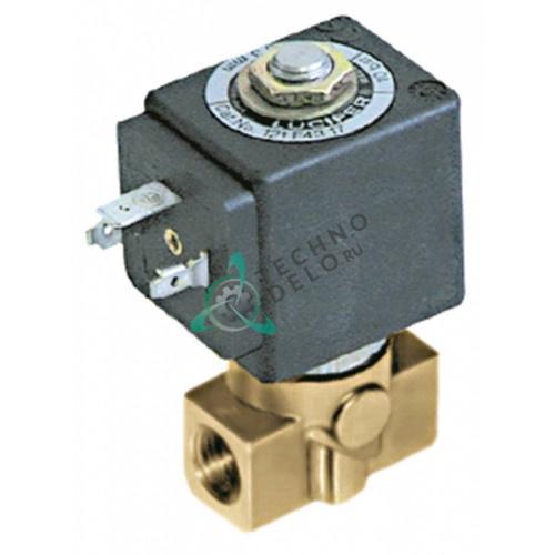 Клапан электромагнитный Parker 121K подключение 1/4IG катушка DZ06S6 230VAC (переменный ток)
