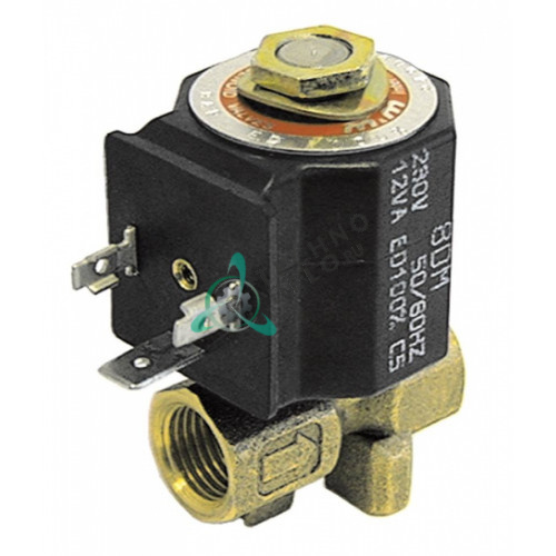 Клапан электромагнитный M&M D-249 24VAC 1/4 L38мм