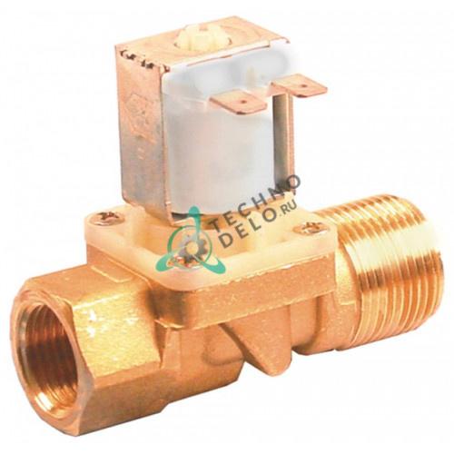 Клапан электромагнитный 24VAC 3/4 AG 1/2 IG L78мм 33D1060 120125 для Comenda, Angelo Po и др.