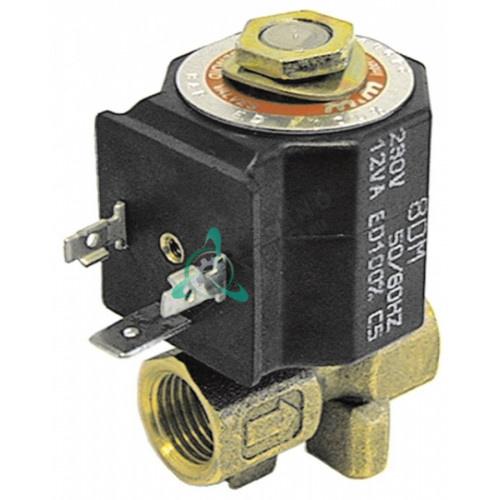 Клапан электромагнитный M&M D-249 1/4 L38мм катушка 82D 24VDC
