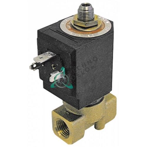 Клапан электромагнитный M&M D-363 1/4 L40мм 24VAC 7200 пар/вода